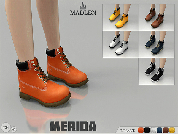 Madlen Merida Boots by MJ95