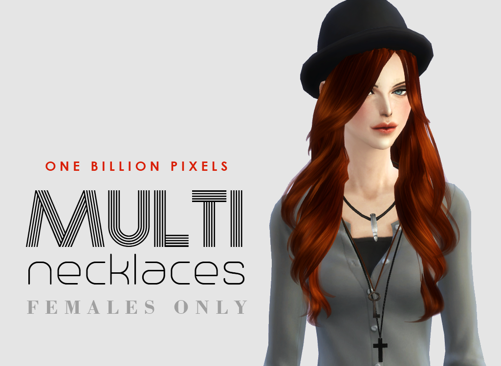Multi Necklaces for Females by NewOne