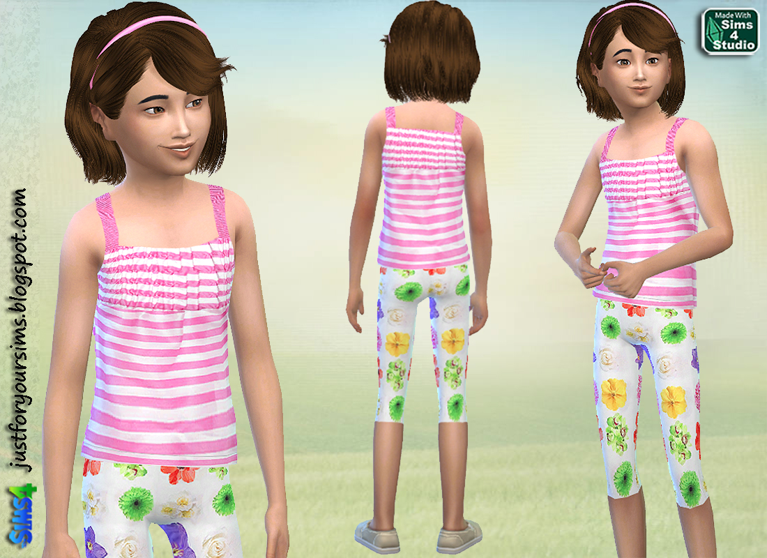 Spring Set for Girls at Just For Your Sims