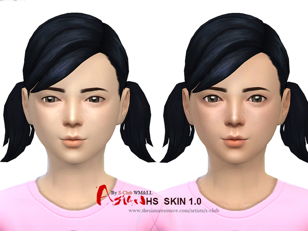 S-Club WMLL ts4 ASIAN H.S ND skintones1.0