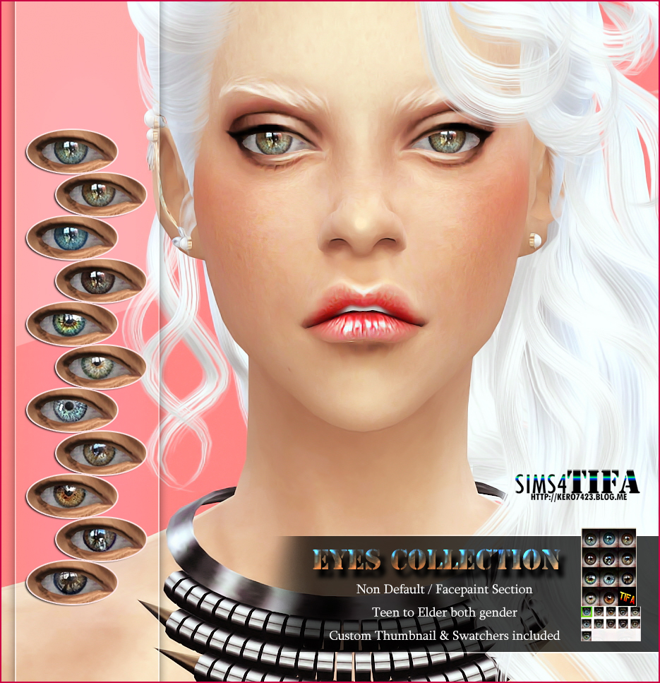 Eyes Collection_ND by Tifa