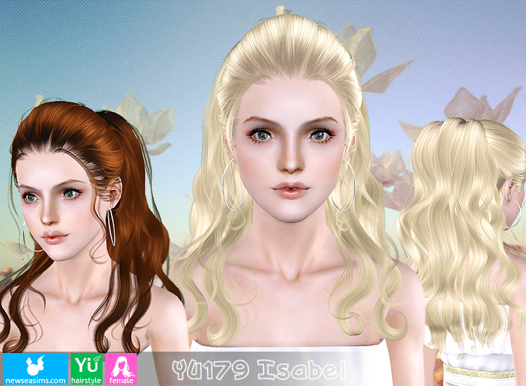 YU179 Isabel hairstyle by Newsea