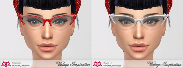 Cat Eye Glasses by Colores Urbanos