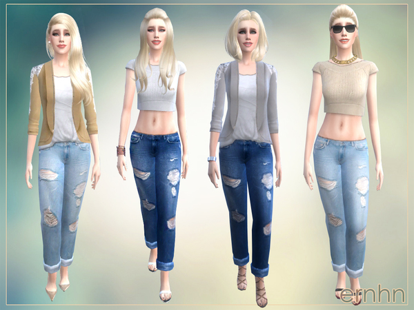 Easy Casual Trend Set by ernhn