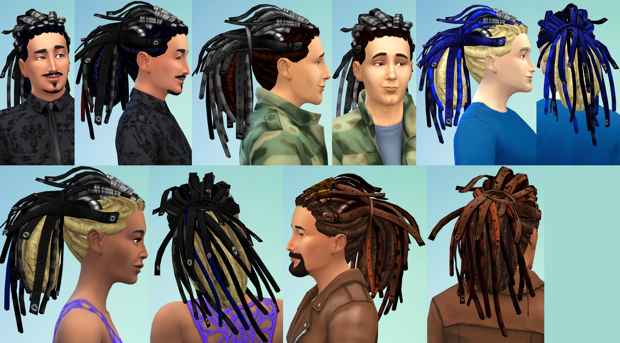 Electric Dreads Conversion by Esmeralda