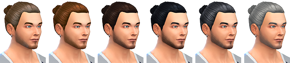 The Man Bun haircut by Rope