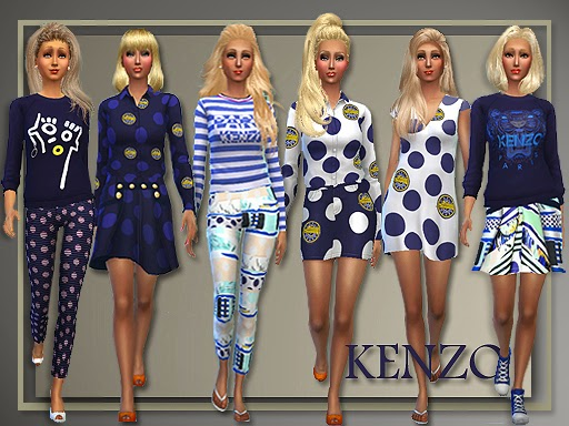 Kenzo Spring 2015 for Teen - Elder Females by Judie