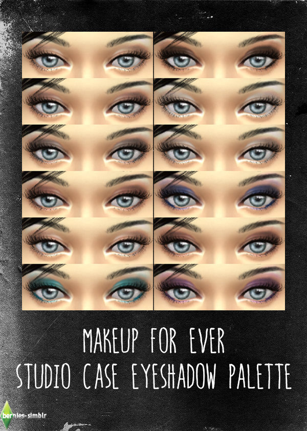 Makeup For Ever Studio Case Eyeshadow palette by BerniesSimblr