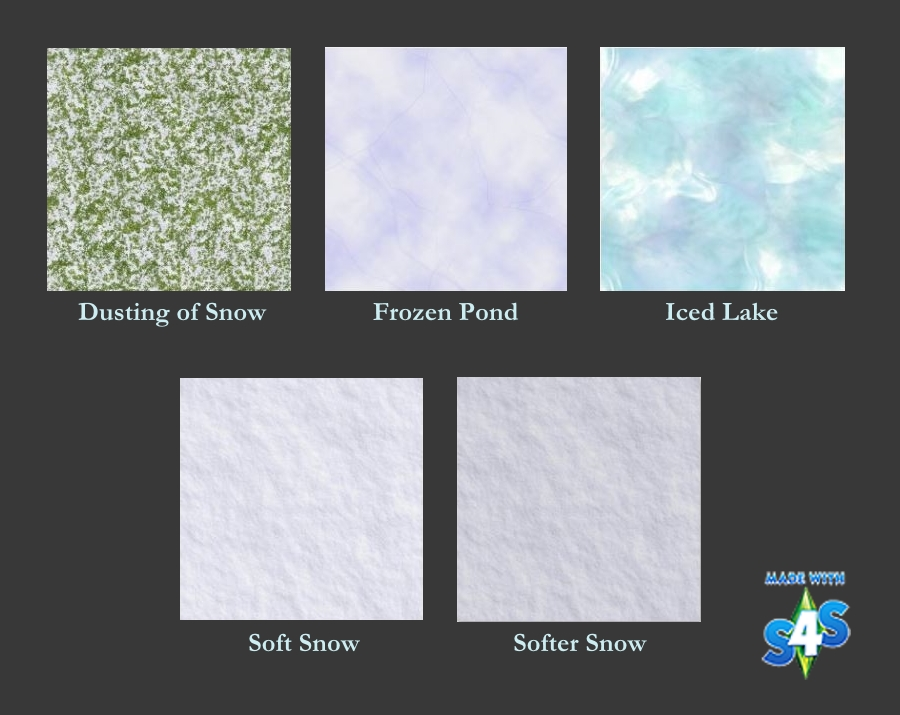 Snow & Ice Terrain Paint by Auntielynds