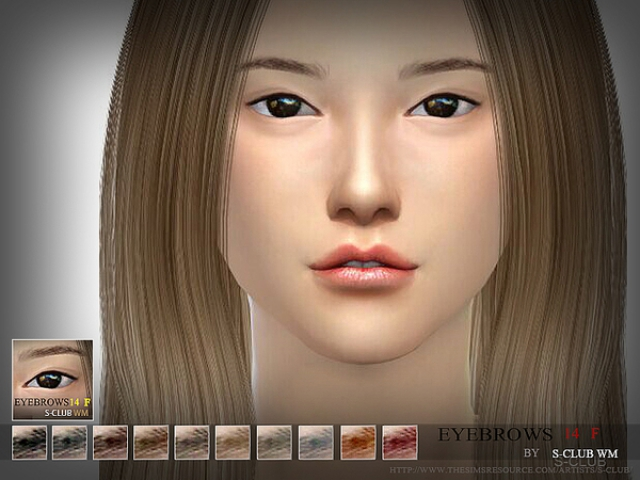 Eyebrows14 F by S-Club WM