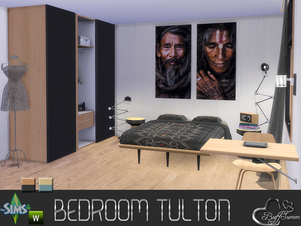 Tulton Bedroom by BuffSumm