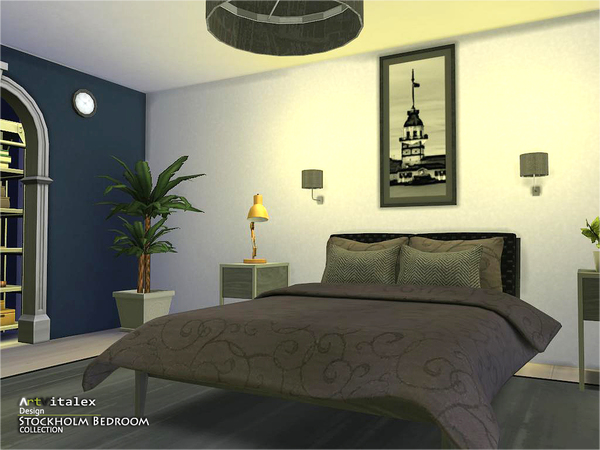 Stockholm Bedroom by ArtVitalex