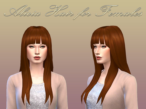 Alicia Hair for Females by NotEgain