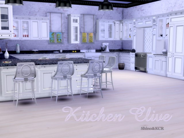 Kitchen Clive by ShinoKCR
