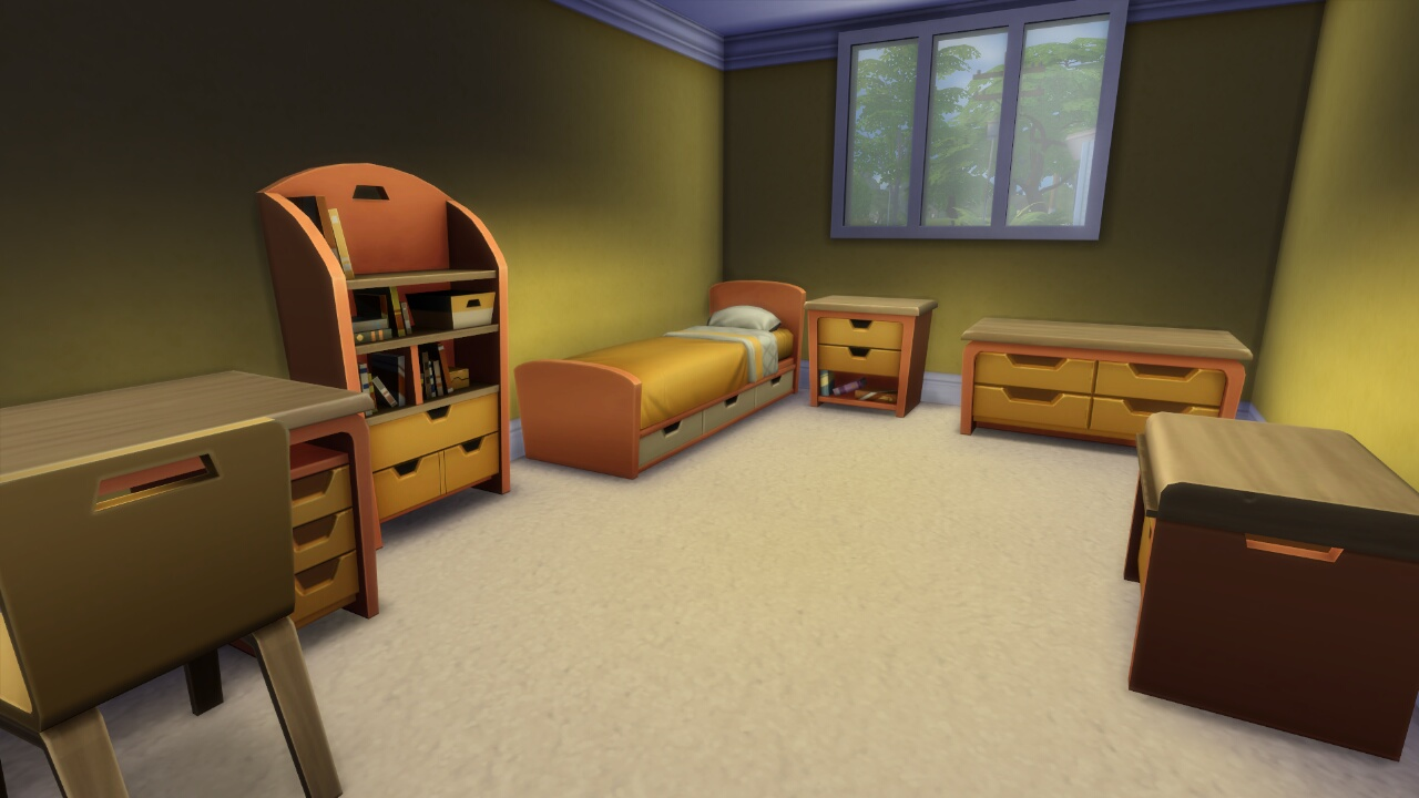 Plain Children's Furniture by Wee Albet