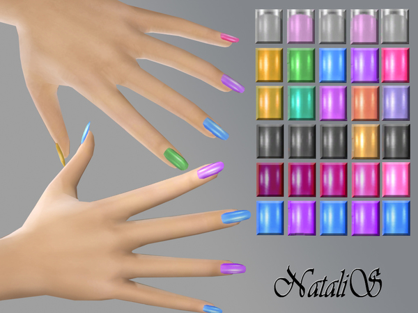NataliS_Multicolor nails FT-FA
