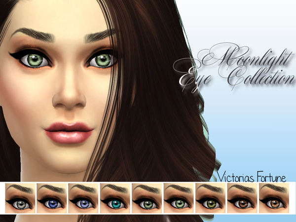 Victorias Fortune Moonlight Eye Collection by fortunecookie1