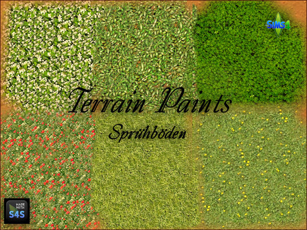 Terrain Paints by Mabra