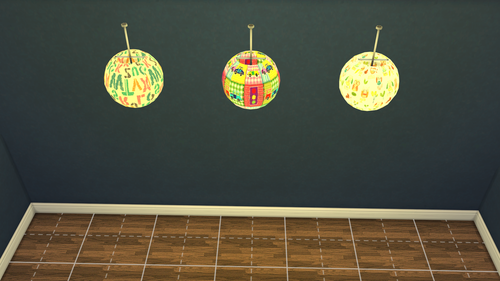 Ceiling Lamp Recolors by Leo4Sims