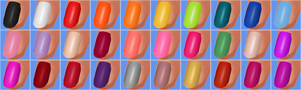 Trendy Nail Polish by Verankas4cc