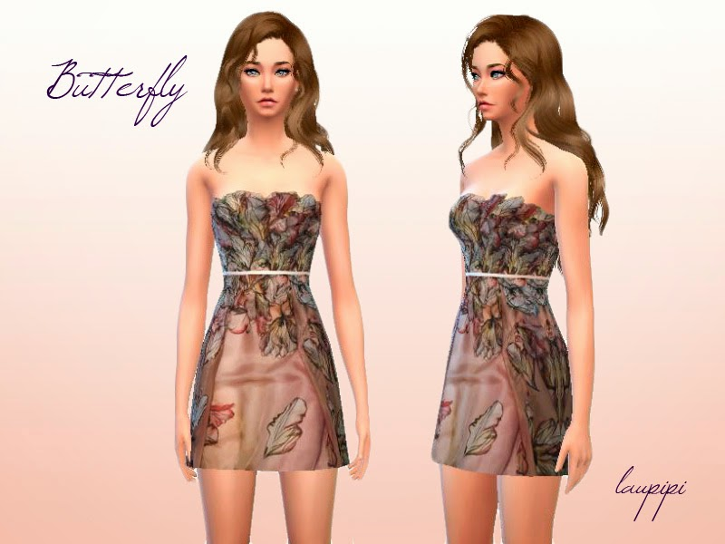 Butterfly Dress by Laupipi