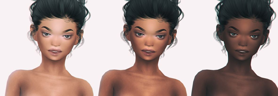 Complete NAOMI skin detail by ELRsims
