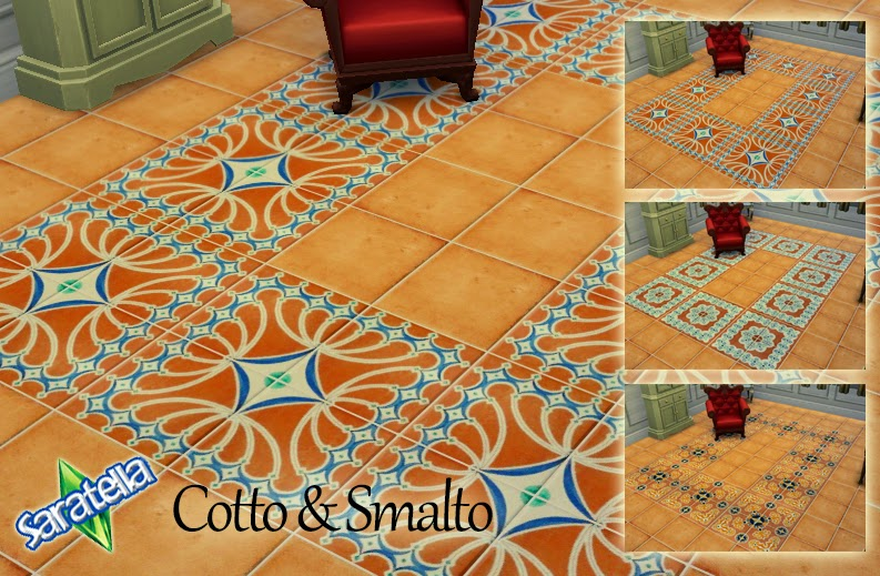 Tile Floors Cotto & Smalto by Saratella