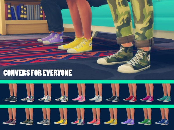 Converses for everyone by doumeki