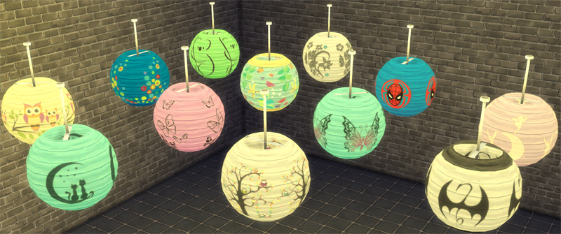 Ceiling Lamp Recolors by Bienchen83