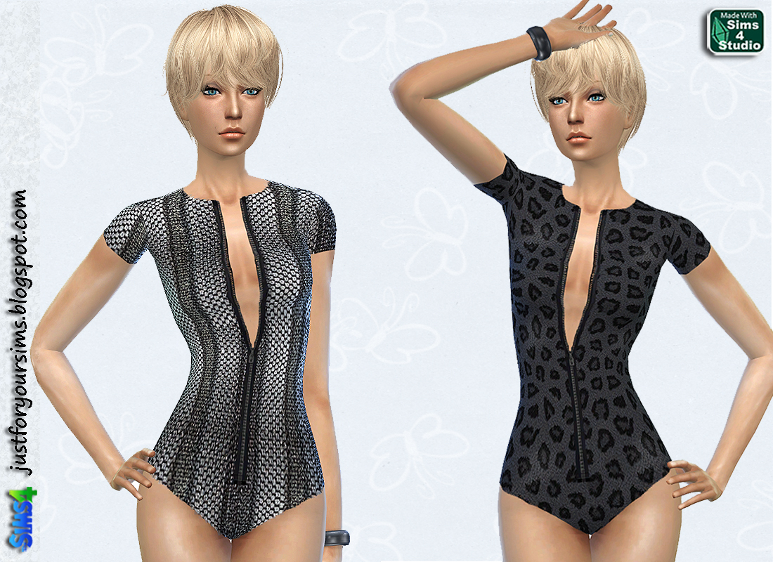 Fur and Snake Skin Swimsuits at Just For Your Sims