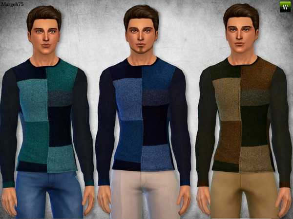 S4 Patchwork Sweater by Margeh-75