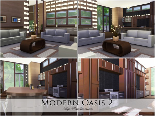 Modern Oasis 2 by Pralinesims