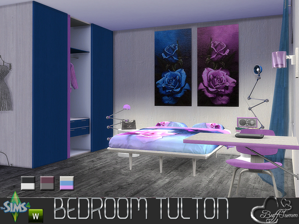 Tulton Bedroom ReColor 1 by BuffSumm