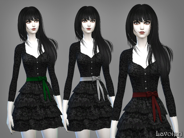 Anachronism Dress by Lavoieri