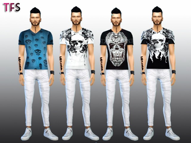 T-Shirts by TwistedFateSims