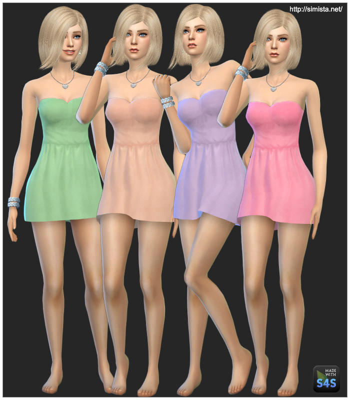 Cute Tube Dresses for Teen - Elder Females by Simista