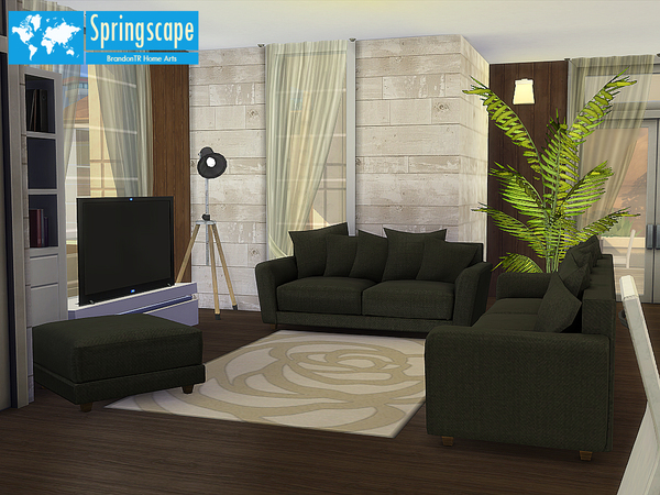 Springscape 'Fully Furnished' by BrandonTR