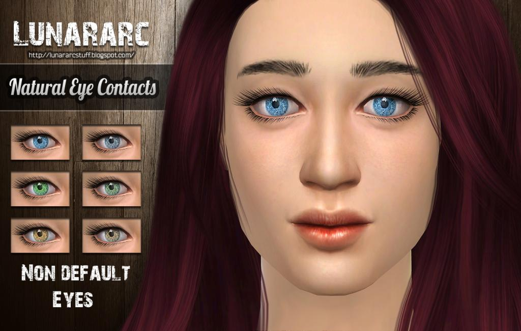Natural - Non deafult contacts by Lunararc
