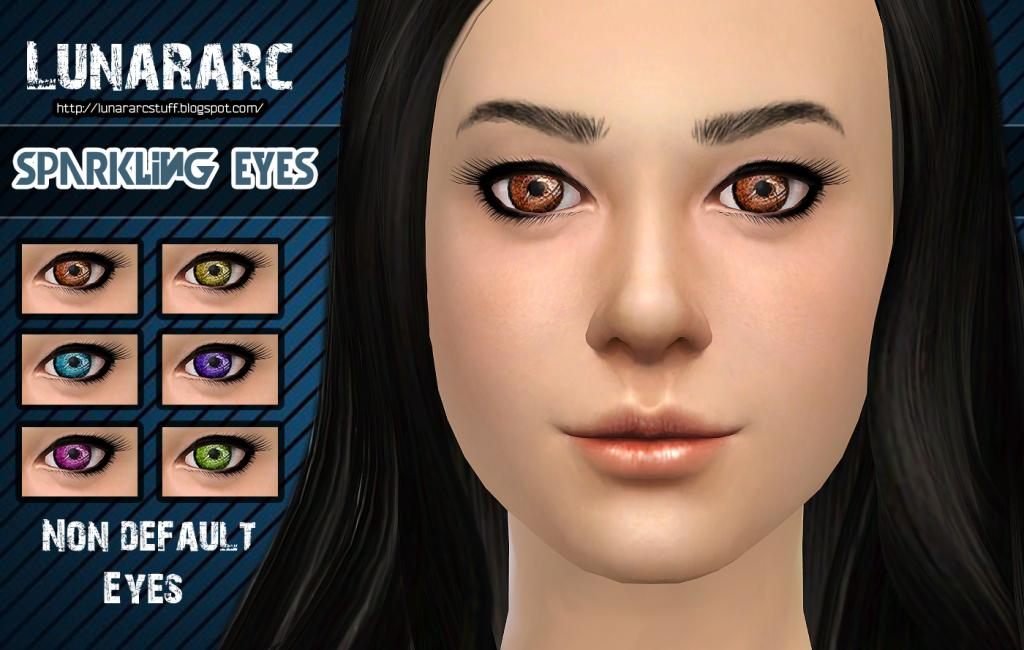 Sparkling Eyes - Non deafult contacts by Lunararc