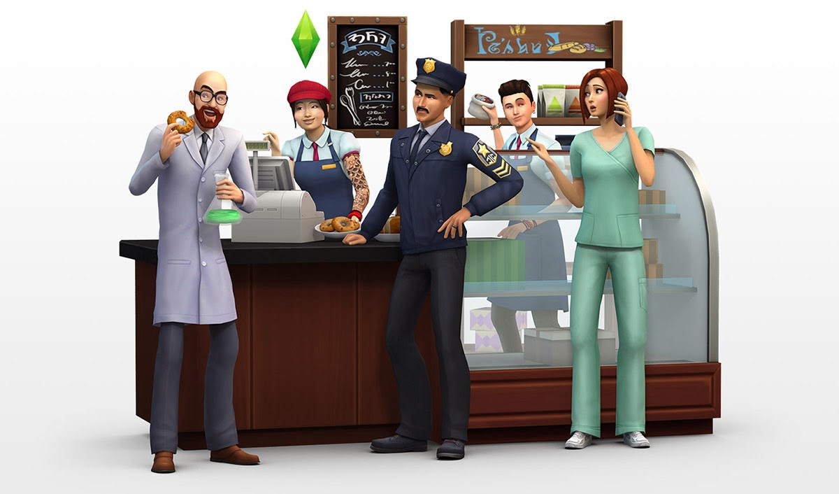 The Sims 4 Get to Work Trailer
