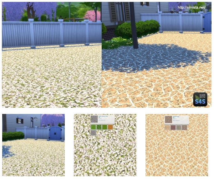 Flower and Marble landscaping Package at Simista