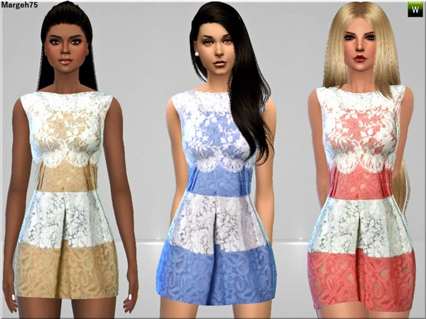 S4 Delicate Lace Dress by Margeh-75