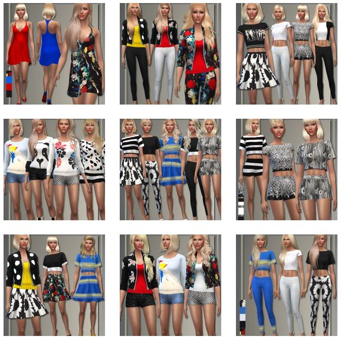 Alice & Olivia Spring Separates 2015 by Judie