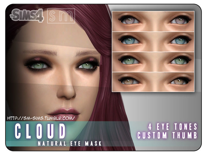 [ Cloud ] - Natural Eyemask BY Screaming Mustard