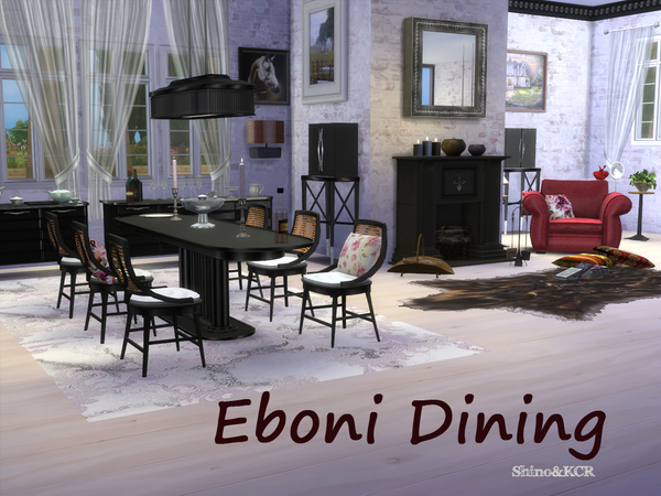Dining Eboni by ShinoKCR