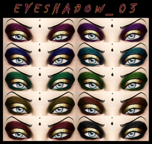 Eye Shadow 03 by DecayClownSims