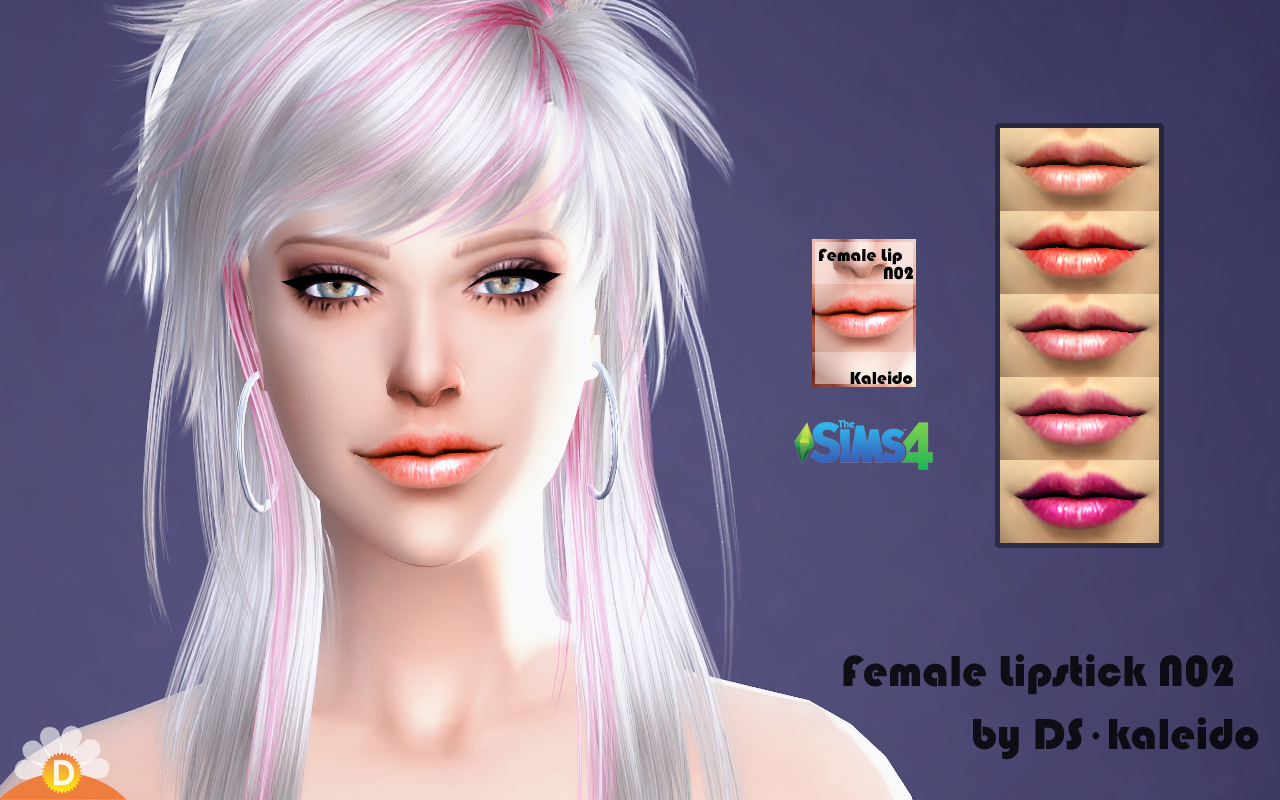 Lipstick N02 at KK Sims