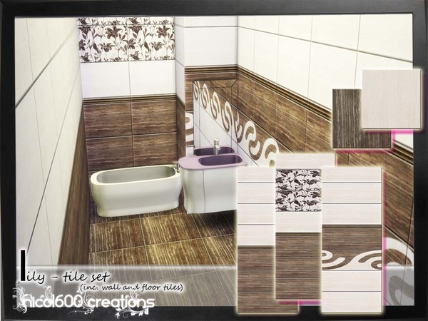 Lily Tile Set by nicol600