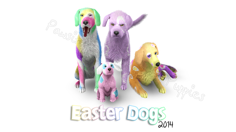 Dog Gift: Easter 2014 by Catlover800