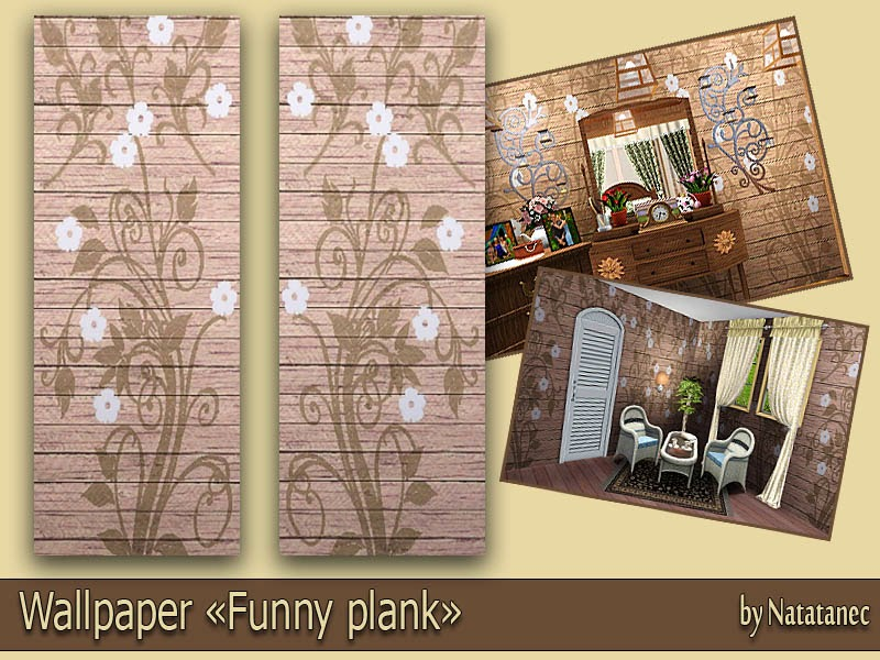 "Wallpaper ""Funny plank"" by natatanec"
